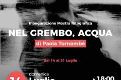 """Mostra fotografica """"Nel grembo,Acqua"""" di Paola Tornambè"""